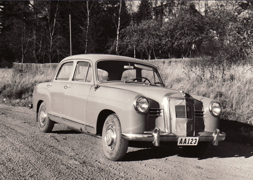 Mercedes-Benz W120 from the 50s