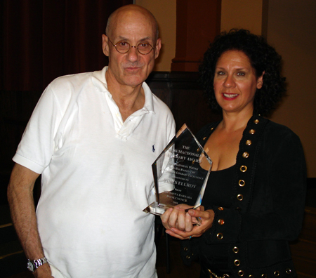 James Ellroy receives the Ross MacDonald Literary Award