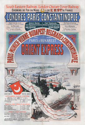 Poster for Orient Express