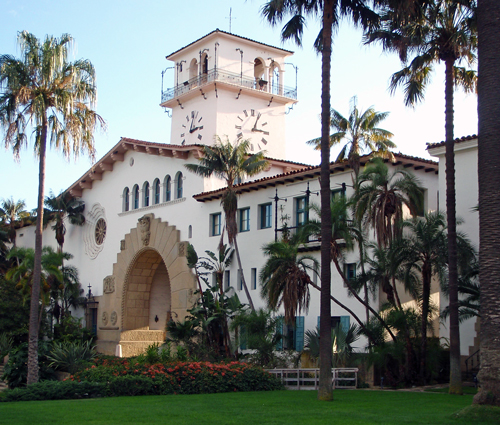 Santa Barbara County Courthouse, Santa Barbara, Calif.
