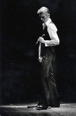 David Bowie as the Thin White Duke at O'Keefe Center in Toronto, Canada
